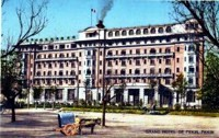 Shanghai colonial style hotel.
