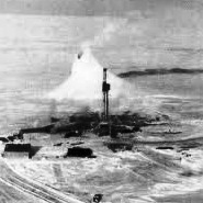 200 foot Ice Cone Drake Point Blowout 1969